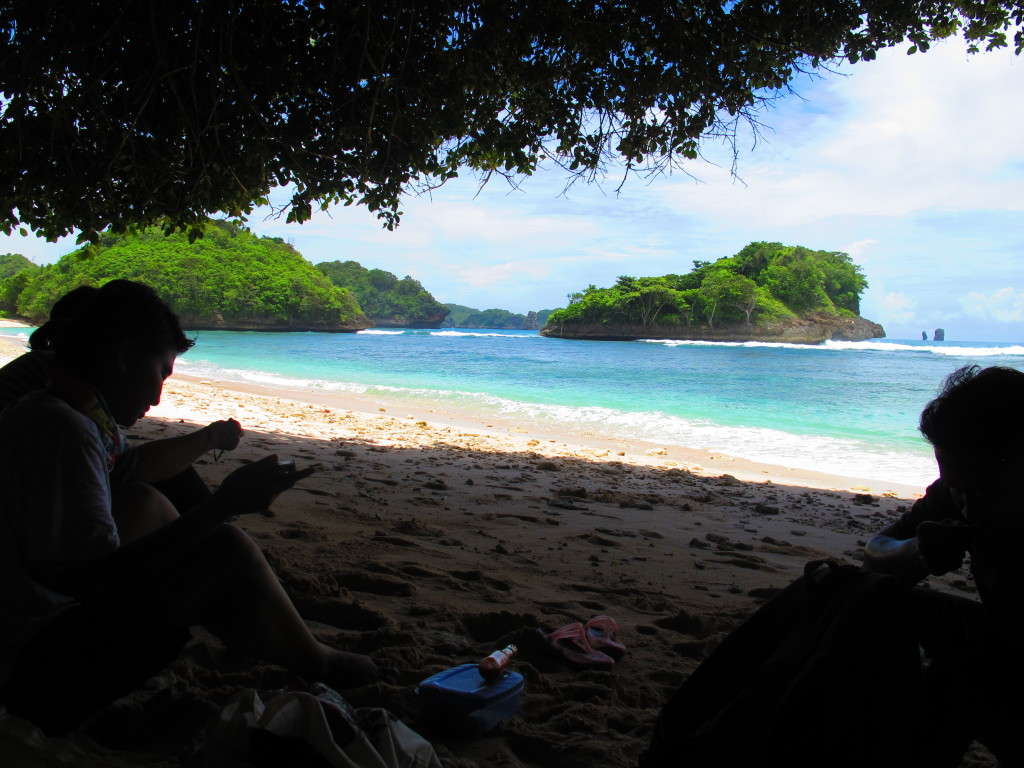 Malang beaches, Cove