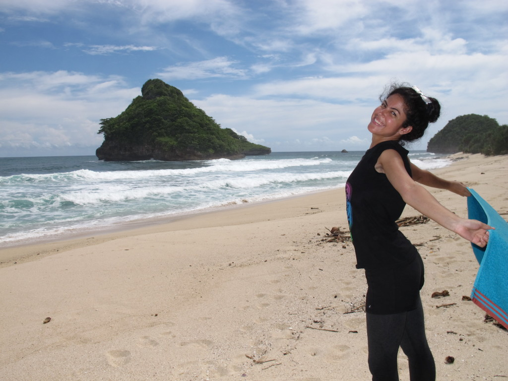 Goa Cina panorama, Malang beaches