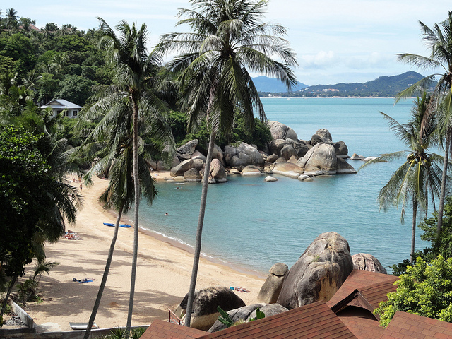 first-time Koh Samui, coral Cove Beach